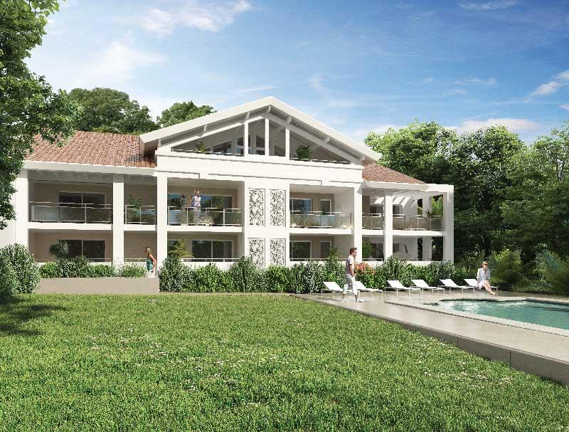 Les appartements programme pavillon milady for Achat pavillon neuf