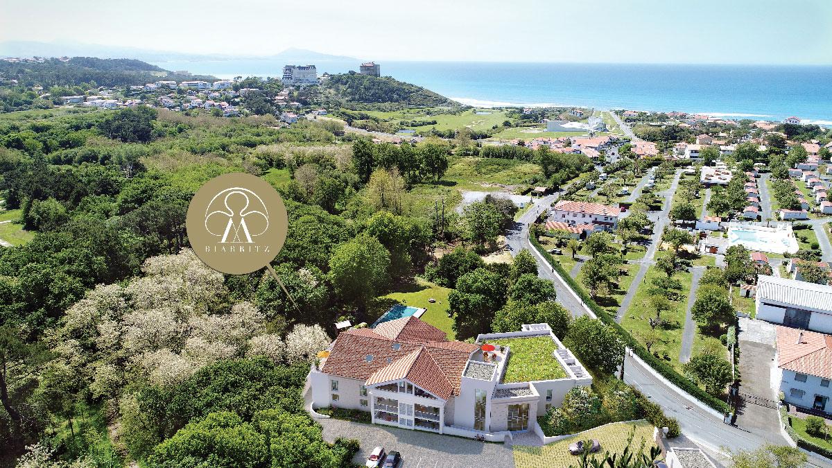 Biarritz, programme immobilier neuf - Pavillon Milady